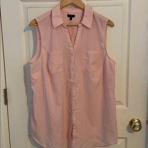 Talbots Blush Pink Sleeveless Top